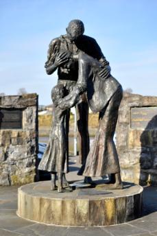 Famine Memorial, Sligo Harbour